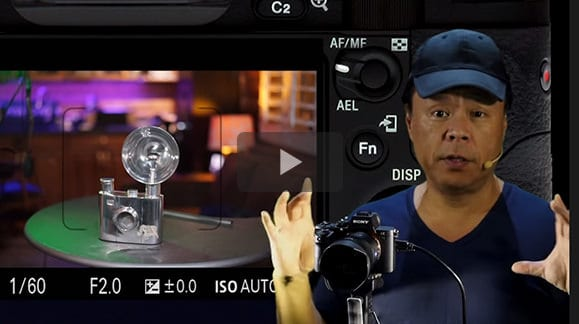 Configure your Sony Mirrorless camera for autofocus object