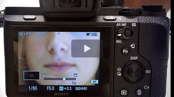 how to use manual focus tools mf assist and peaking levels on sony rh cameraquickstart com sony rx100 iv manual focus sony rx100 manual focus ring