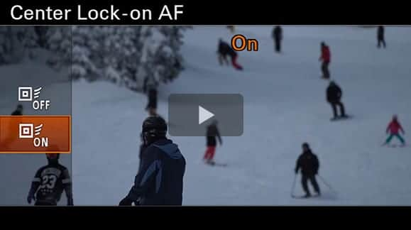 Sony a6300 Tutorial On Auto Focus Tracking For Video